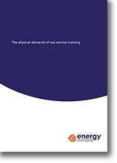 The physical demands of sea survival training cover